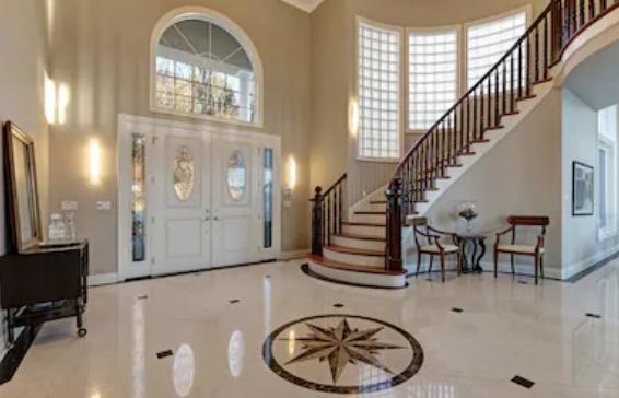 Home tile flooring